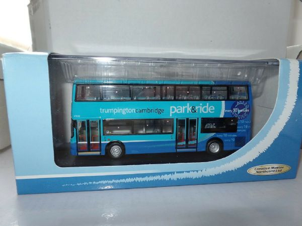 CMNL UKBUS1015 Alexander Denis Trident Stagecoach Cambridge  Park & Ride Blue